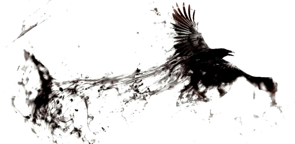 Fear Advertising Image of a Dark Bird How fear works