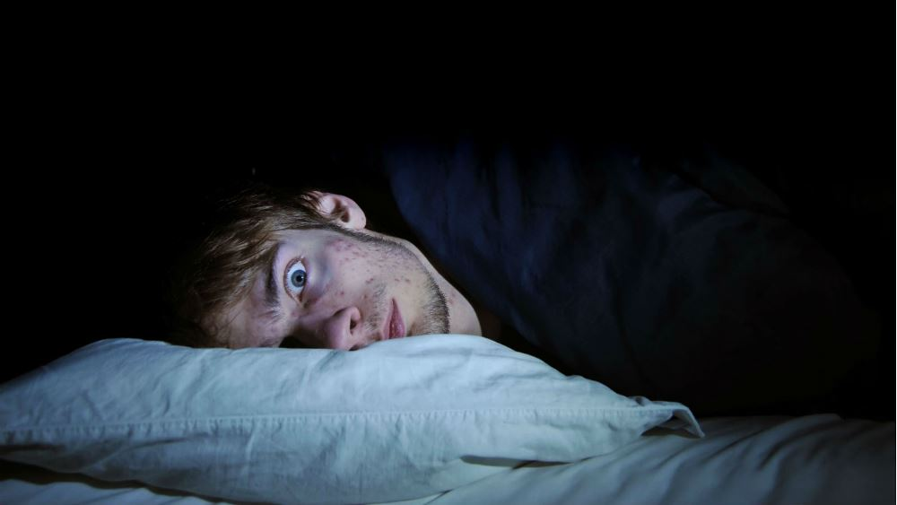 image of sleep nightmares scary dreams